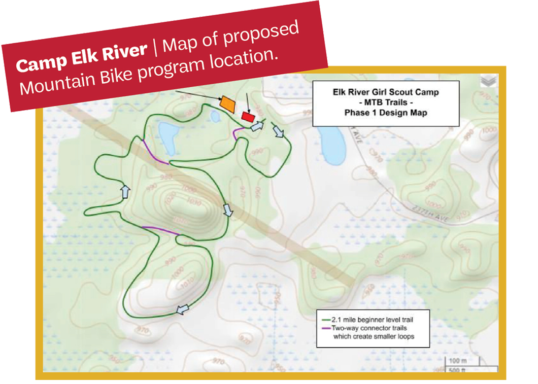 Camp Elk River's Proposed Mountain Bike Course