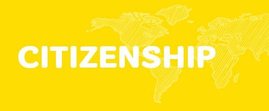 Citizenship Events are Signified by the Gold Color