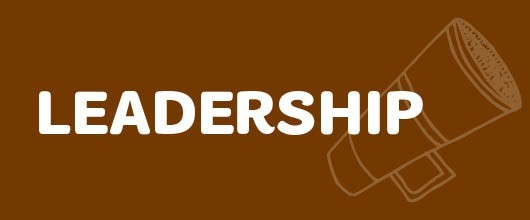 Leadership Events are Signified by the Brown Color