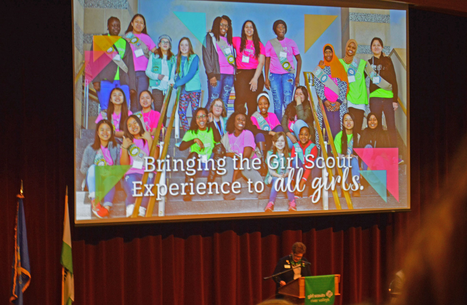 Ms. Tish Bolger, the CEO of GSRV, discusses the ConnectZ program, which supports girls as they develop knowledge and skills for a positive future, emphasising once again that Girl Scouts is for Every Girl