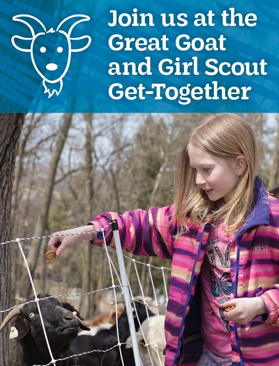 Join us at the Great Goat and Girl Scout Get-Together