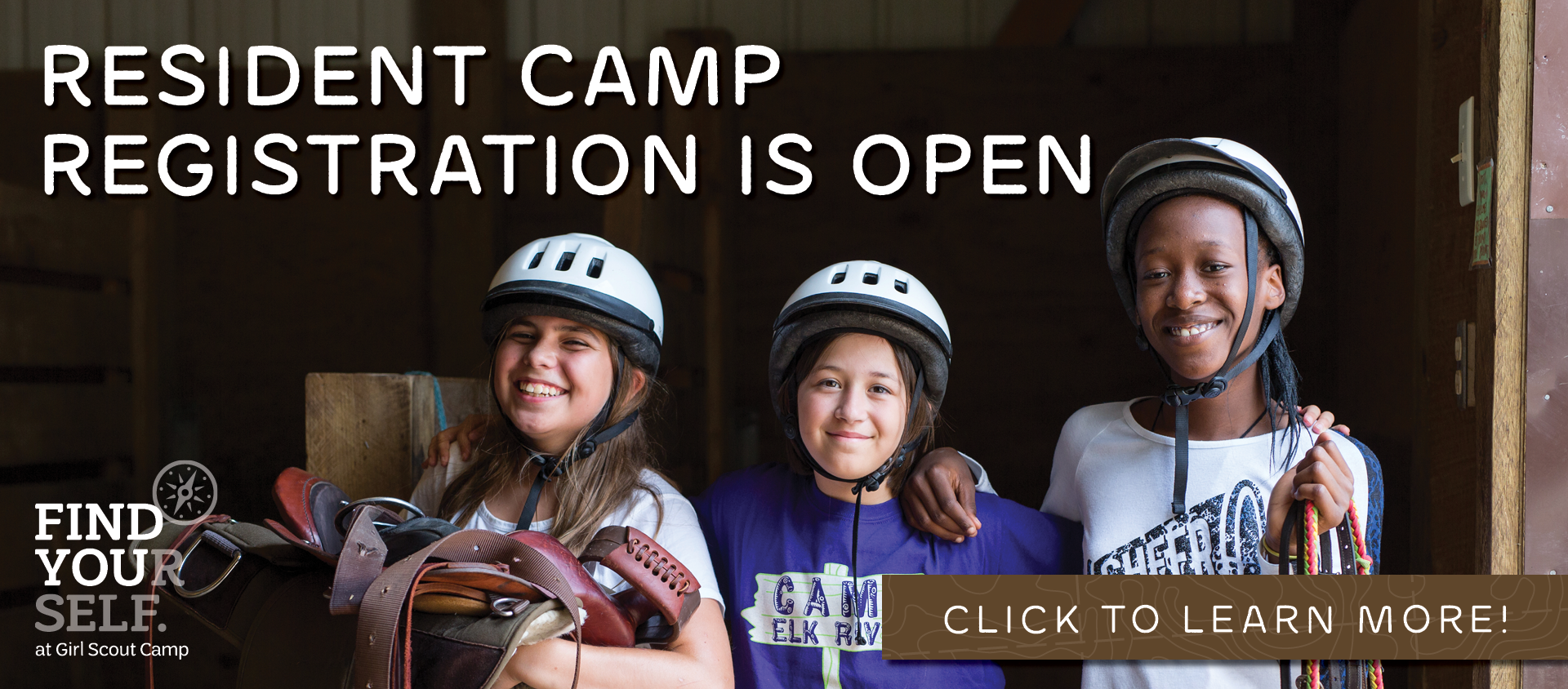 Registration for Resident Camp is now open! Click here to learn more.