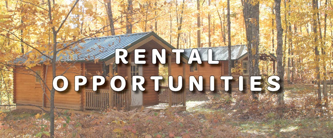 NEW Rental Opportunities for Families and Volunteers