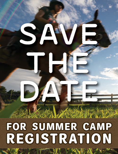Save the Date for Summer Camp Registration