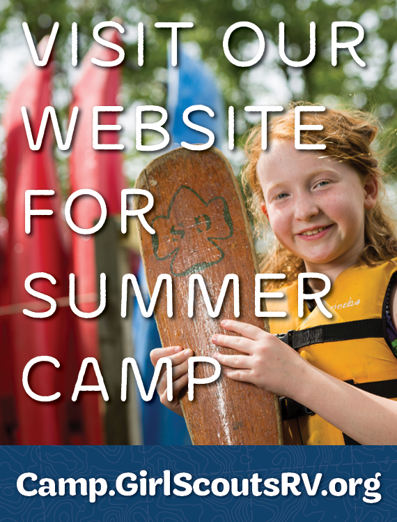 Visit Our Summer Camp Website (Camp.GirlScoutsRV.org)