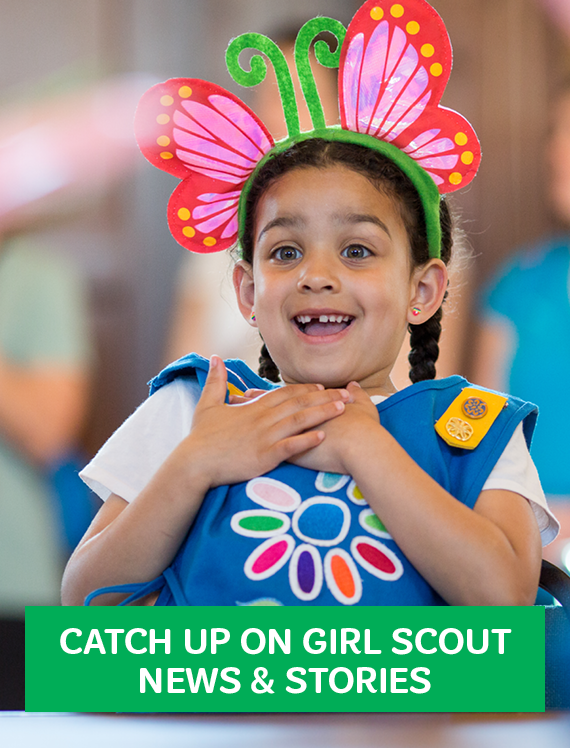 Catch up on girl scout news & stories