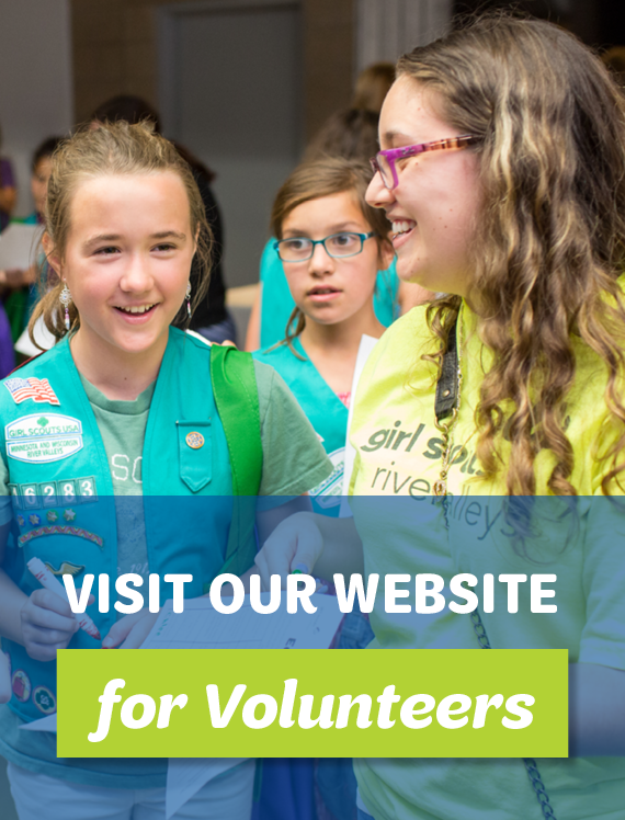 Visit Volunteers.GirlScoutsRV.org