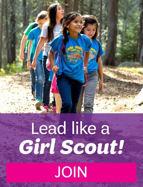 Lead Like a Girl Scout! Join!