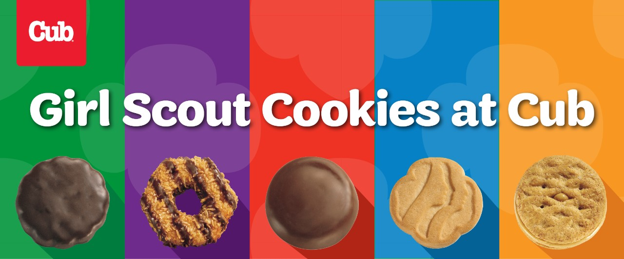Girl Scouts Cookies at Cub Foods